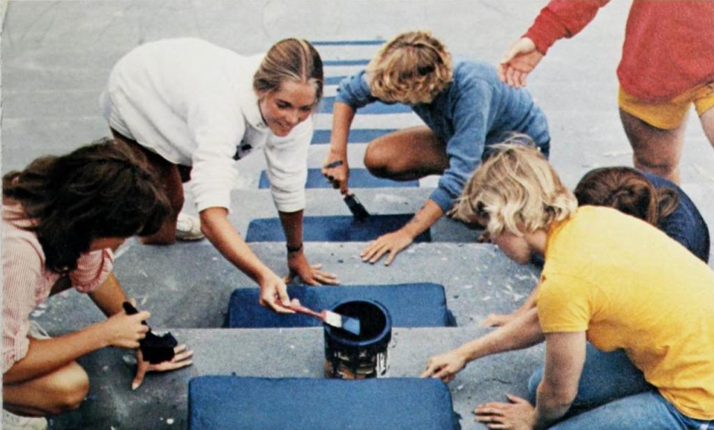 Painting the Pressbox
