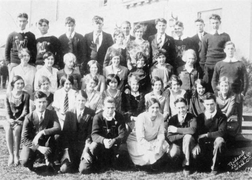 Mrs. Loving's Homeroom (1929-30)