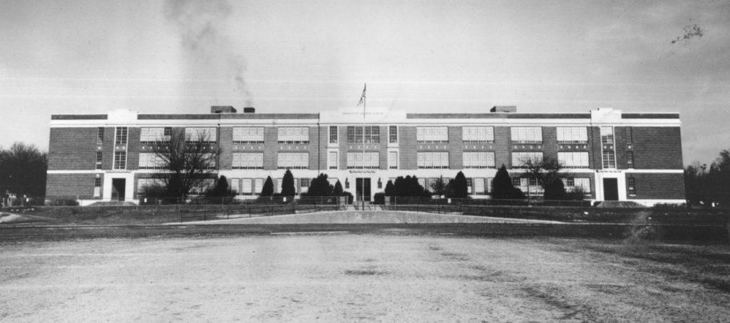 Washington-Lee High School in the 1930s
