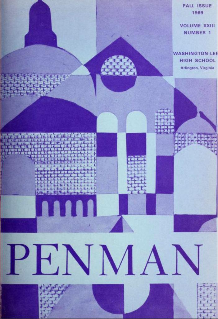 Lee's Penman award winning literary magazine