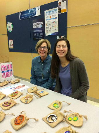 Alison and Mrs. Reed raising money to help support the Global sojourns gving circle