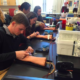 IB Biology Students learn how to properly draw blood