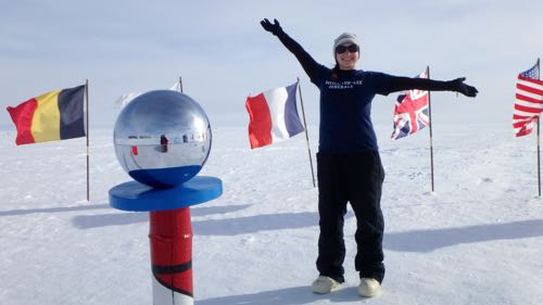 UPDATE: Science Teacher, Ms. Miller, Begins Research at South Pole