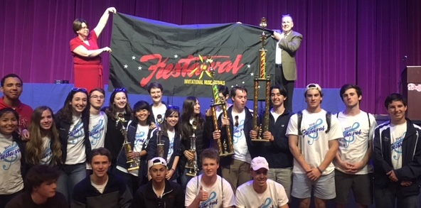 17th Grand Championship Earned by Band Students