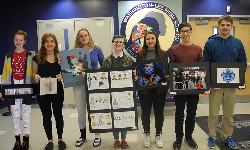 Several Students Win the National Scholastic Art Awards