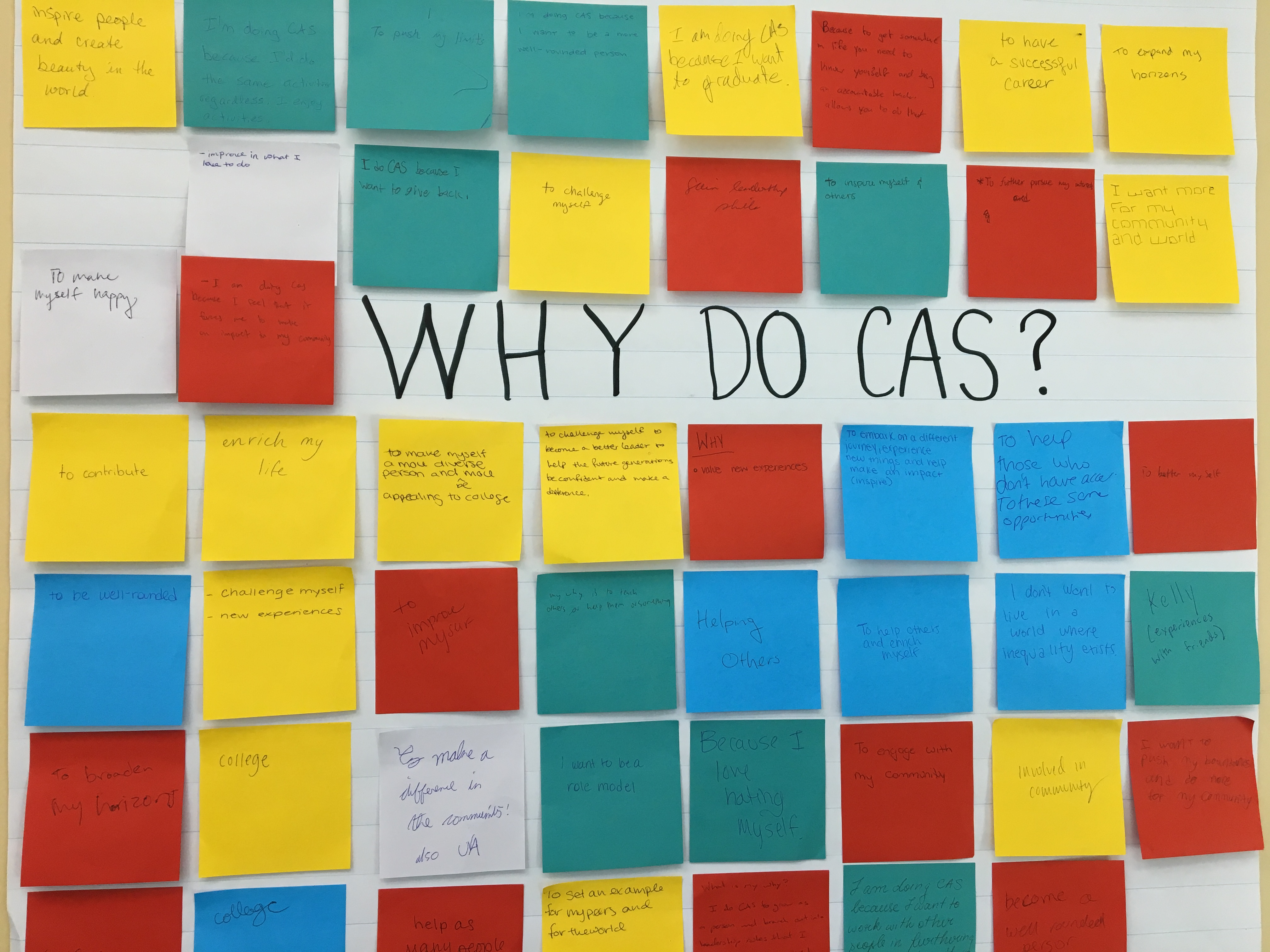 IB CAS Fair will be held on March 21st (7-8 pm)