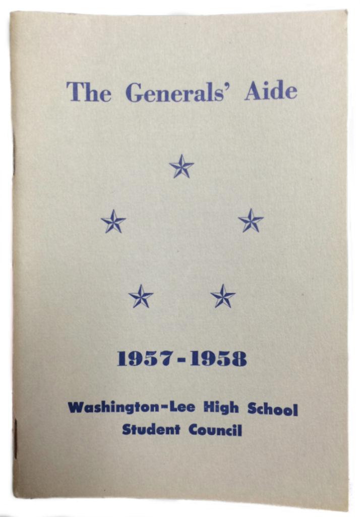 Washington-Lee student handbook