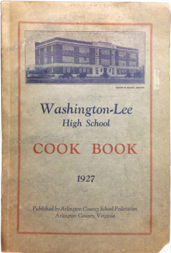 Washington-Lee Cook Book