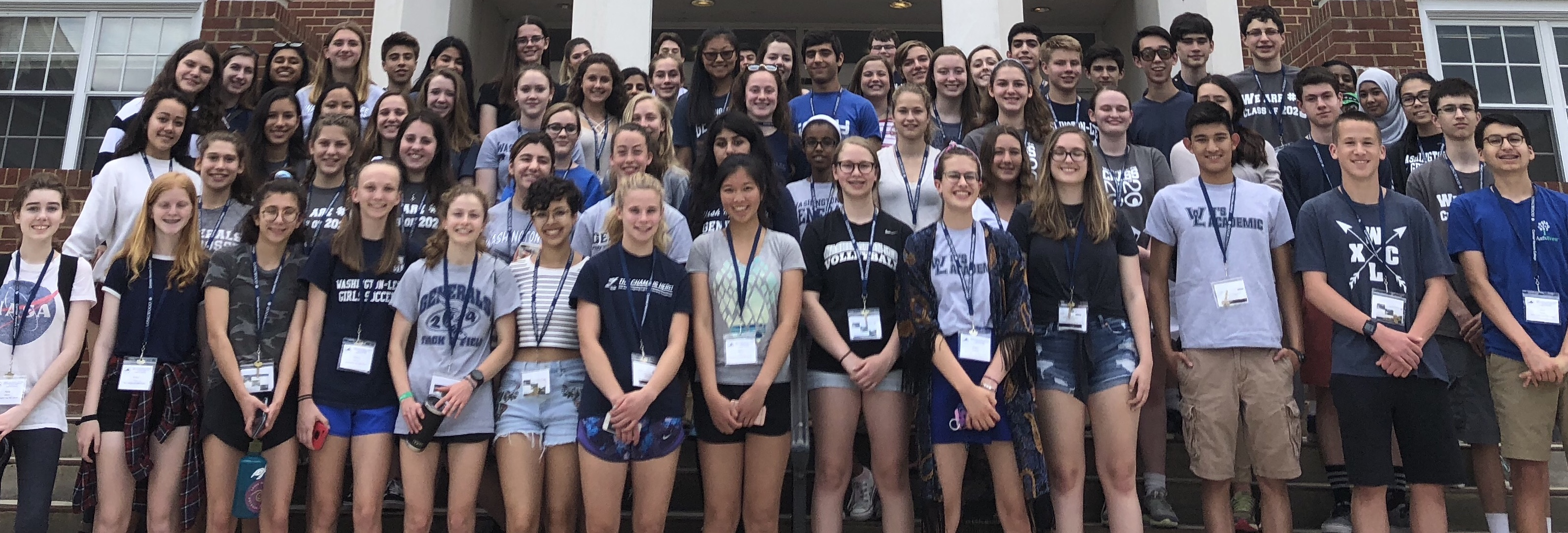 70 Students Presented and 14 Earn Recognition at the 77th annual statewide Virginia Junior Academy of Science Competition