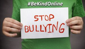 October is Bullying Prevention Month #BeKindOnline