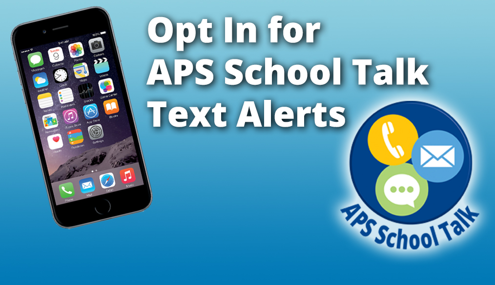 Opt In to APS Text Alerts