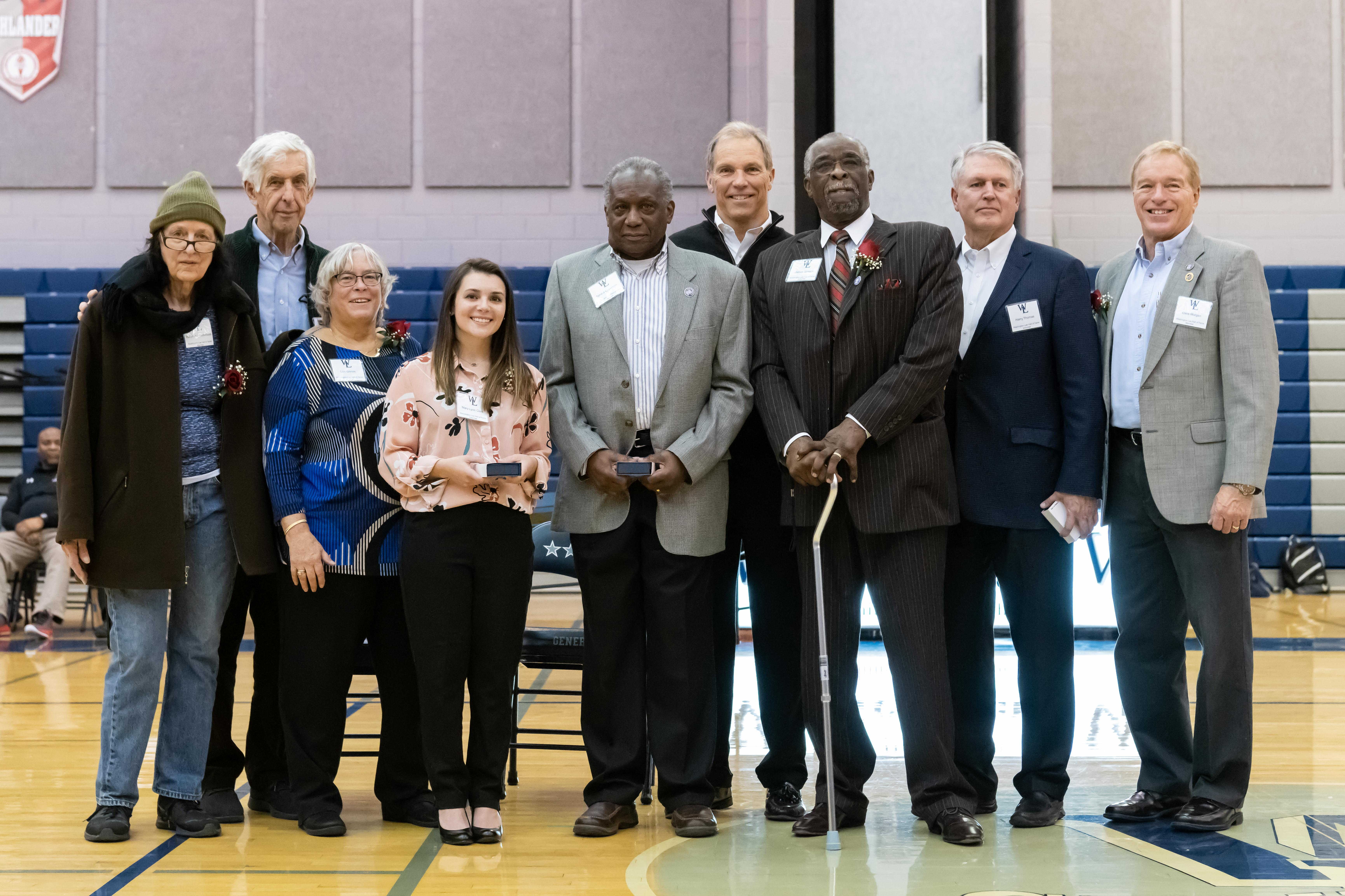 W-L Athletic Hall of Fame Class of 2019