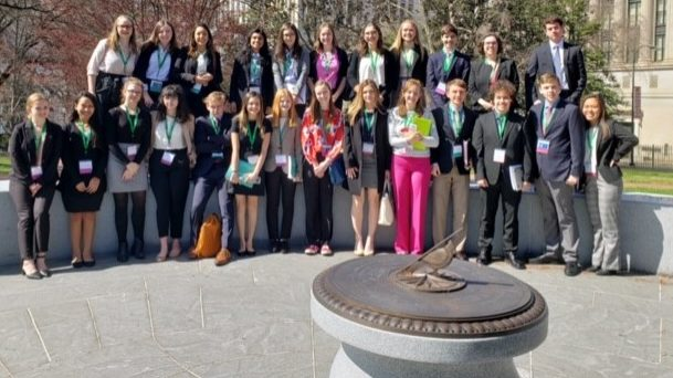 Twenty-five Students Take Their Skills to Richmond, VA for Model General Assembly Event